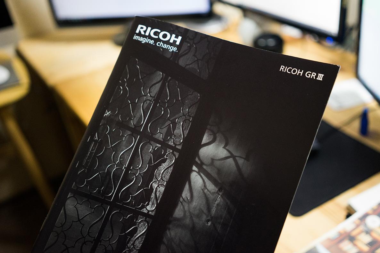 RICOH GR3 カタログ