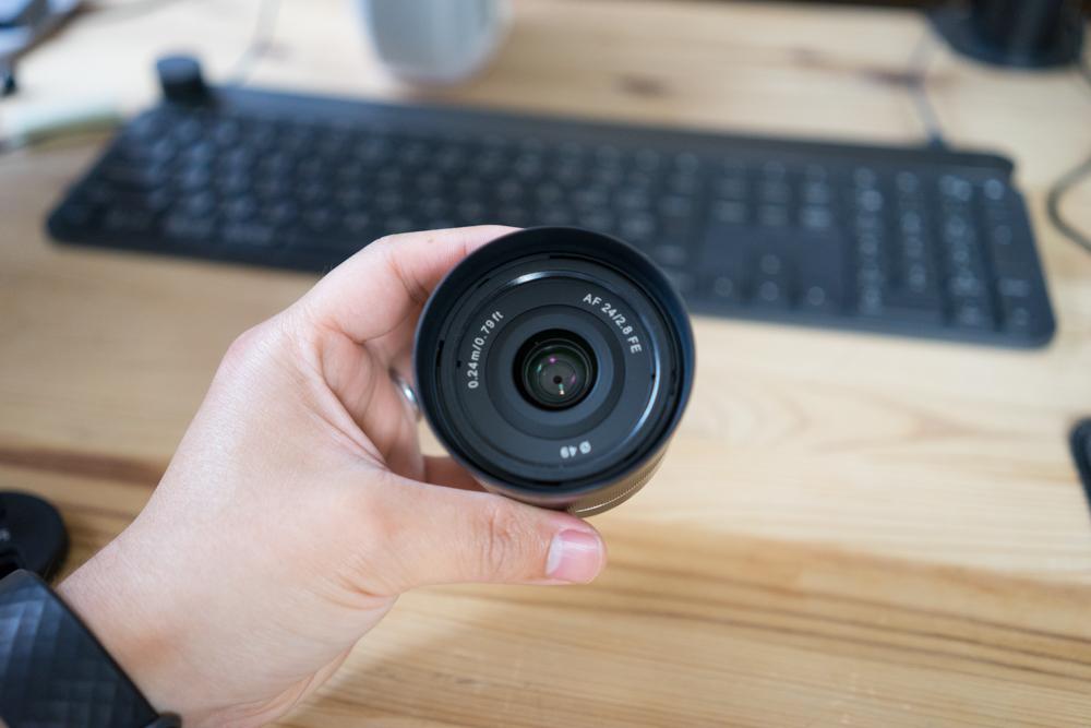 コスパ最強レンズ「SAMYANG AF24mmF2.8 FE」を購入!35mmとの画角差のチェック動画あり!