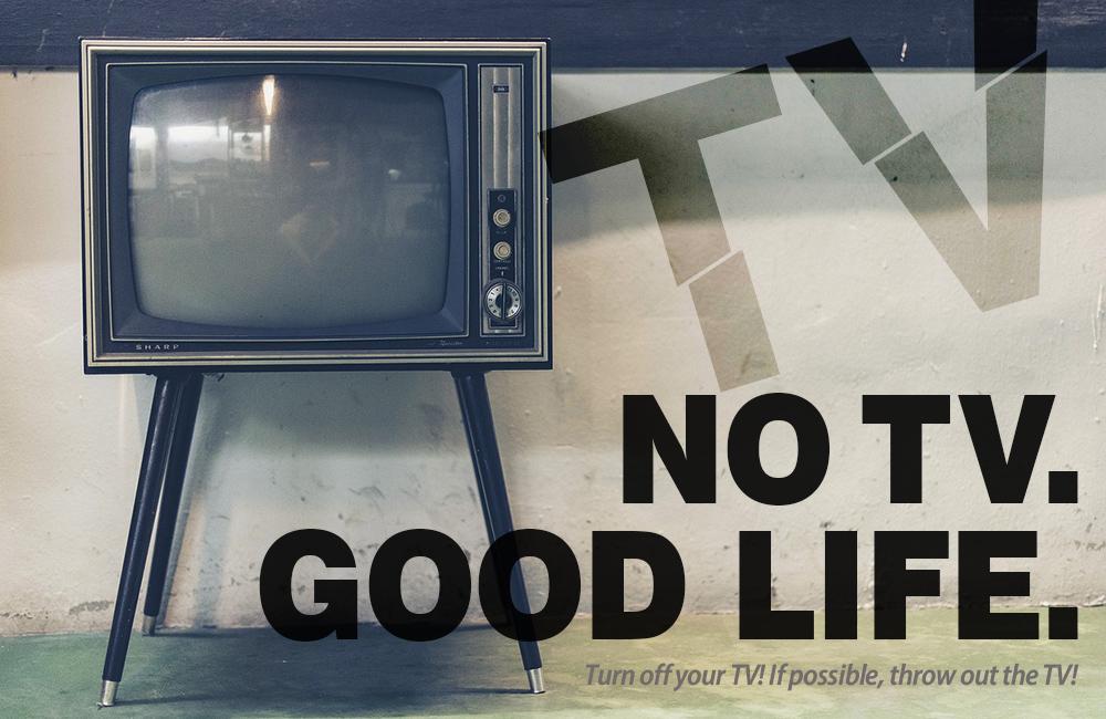 テレビに依存していない?テレビを無くすと1日が2時間長くなり、家族の会話を増やせるよ
