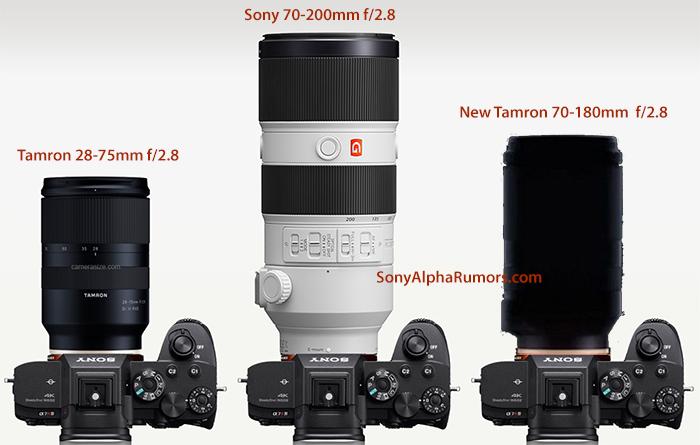噂されているタムロン望遠FEレンズが70-180mm F2.8で確定か?