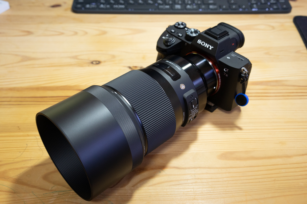 SIGMA 135mm F1.8 DG HSM Artをα7Ⅲに装着